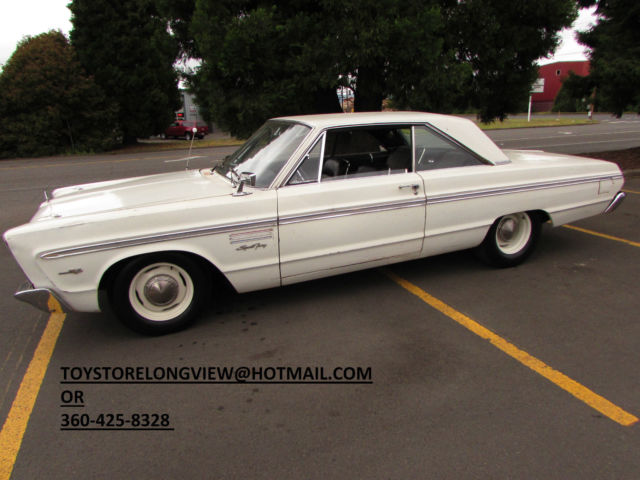 1965 Plymouth Sport Fury Big Block 4 speed