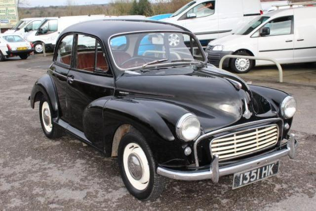 1957 MORRIS MINOR 0.9 1000 2D