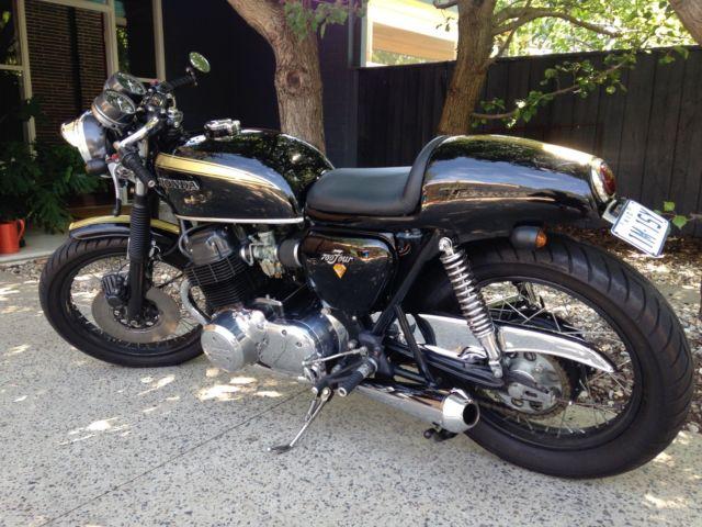 Honda CB750 K2 1972 Custom Cafe Racer