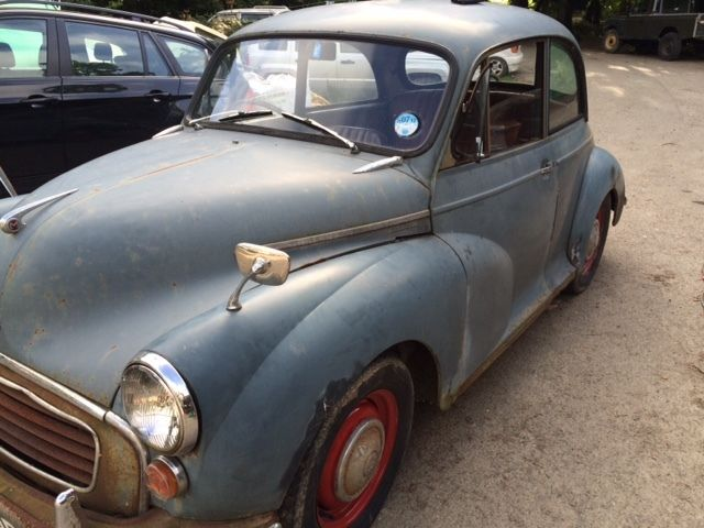 1958 MORRIS MINOR 1000 GREY Rat Look - Mot/Tax exempt - very sound and solid
