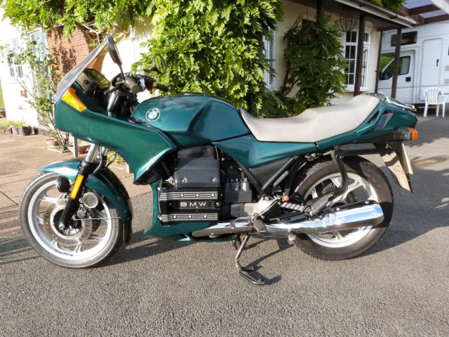 BMW K75S  Motorcycle Green