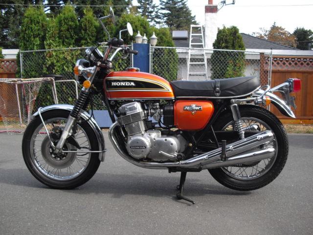 Unrestored 1974 honda cb 750 orange for sale victoria british report this advert publicscrutiny Choice Image