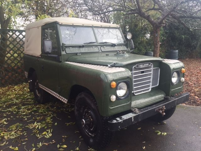 "1982 LANDROVER 88"" UTILITY, SERIES 3 ,SOFT TOP, 2.3  PETROL, NEW MOT"