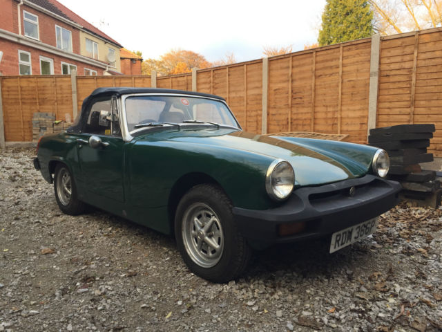 1976 MG MIDGET 1500 British Racing Green MOT October 2017