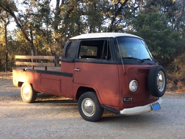 1970 vw truck bus custom
