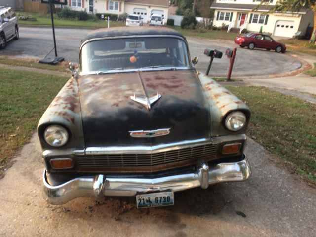 stock 1956 chevy 210 4 door