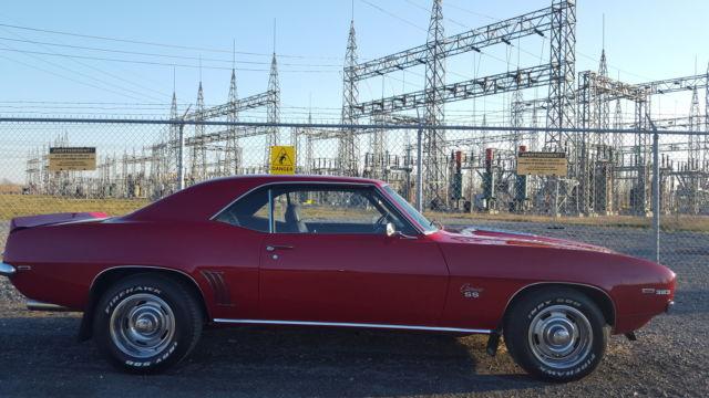 1969 CHEVY CAMARO SS  525HP