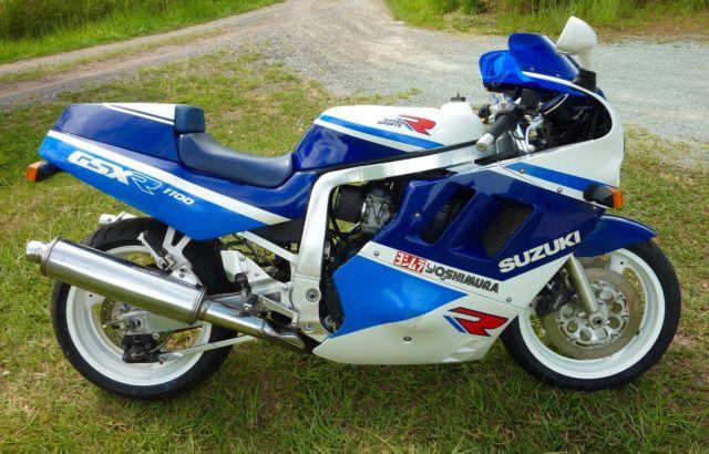 1989 SUZUKI GSXR1100 For Sale Noosaville, QLD, Australia