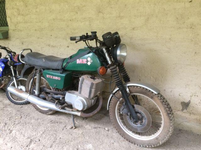 MZ ETZ 250, rare, classic motorcycle, motorbike