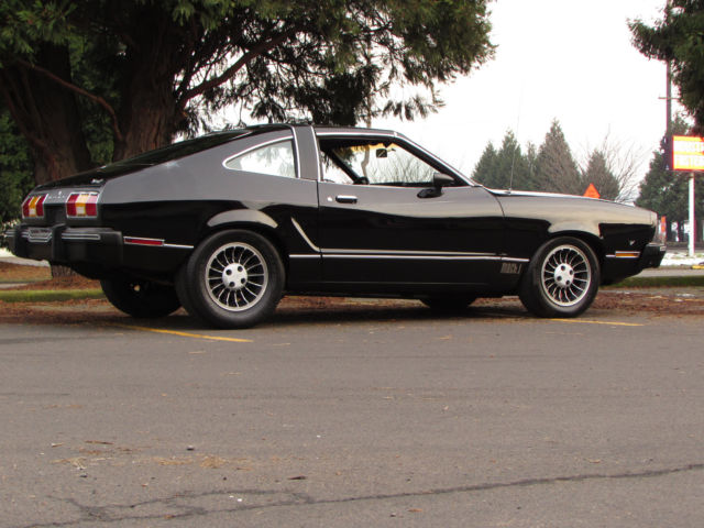 This is a 1977 Mustang Mach 1 302 4 speed T-top - Marti Certificate – One Of One