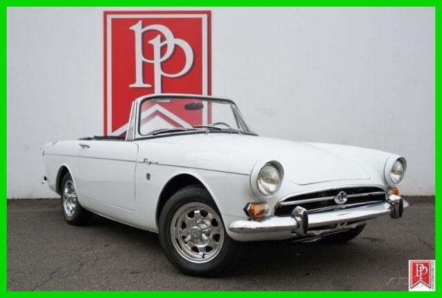 1966 Sunbeam Tiger Mk1A Roadster, fully restored, Hard top and soft top.