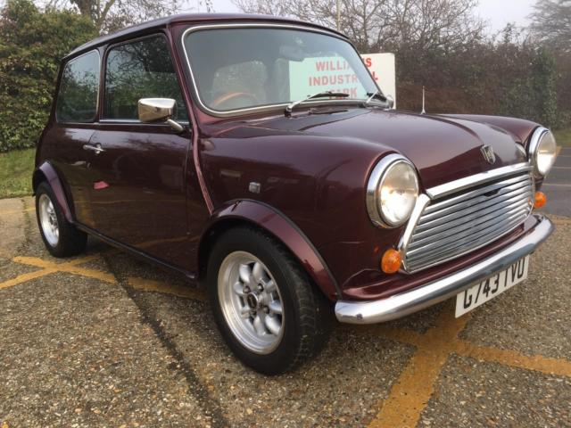 1990 Austin Mini Thirty. Limited edition. 1000cc. Metallic Cherry red.