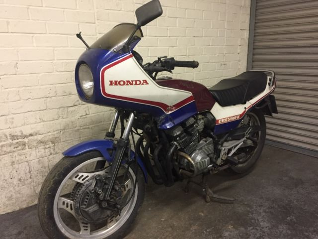 1983 HONDA CBX550 F2-C BLUE BARN FIND PROJECT Retro cafe racer ??
