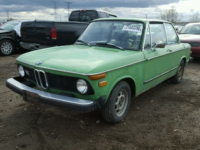 1975 BMW 2002 Base Coupe 2-Door 2.0L