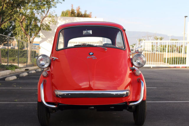 1958 BMW Isetta in Red / Only 4,768 Miles since Fully Restored