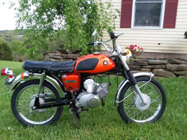1969 Suzuki ac100 Wolf