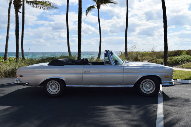 1971 MERCEDES 280 SE/ CONVERSION - CONVERTIBLE - RARE, UPGRADES, SUPER CLEAN