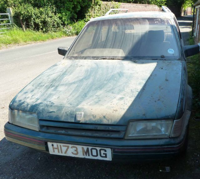 Barn Find Austin Rover Montego 2.0ltr GSI Classic 7 Seater Estate Stored 17 yrs