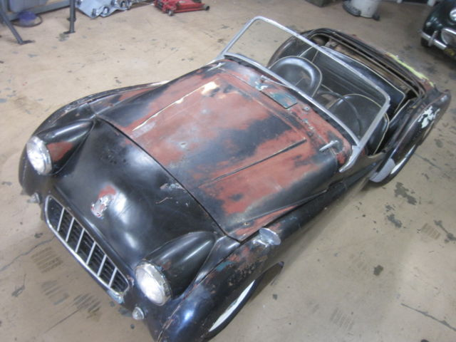 Triumph Tr3 Small Mouth Roadster Motor Runs Needs Restoration