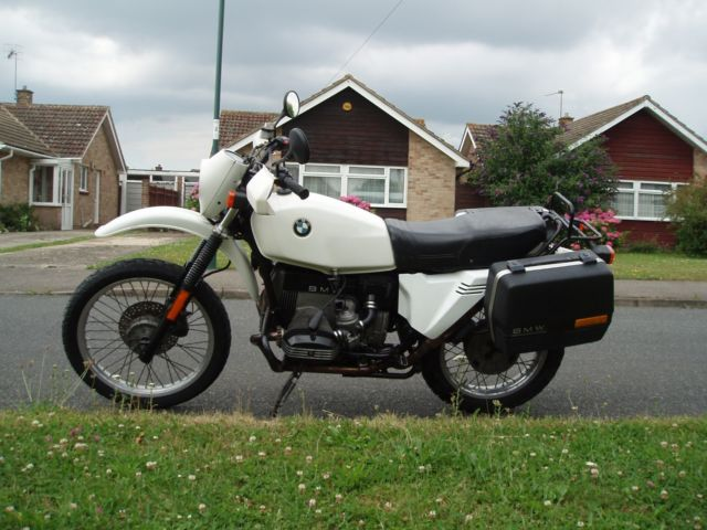 BMW R80 G/S 1987/D White UK bike