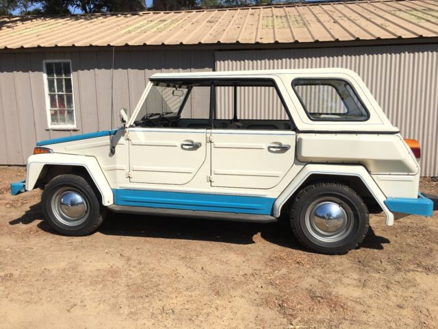 "1974 VW Thing ""Acapulco"" Edition ALL ORIGINAL * Low Miles, Clean & Runs*"