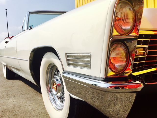 1967 Cadillac Coupe DeVille Convertible AMAZING CONDITION!