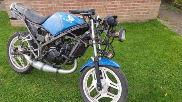 Honda NS125R 90% Project