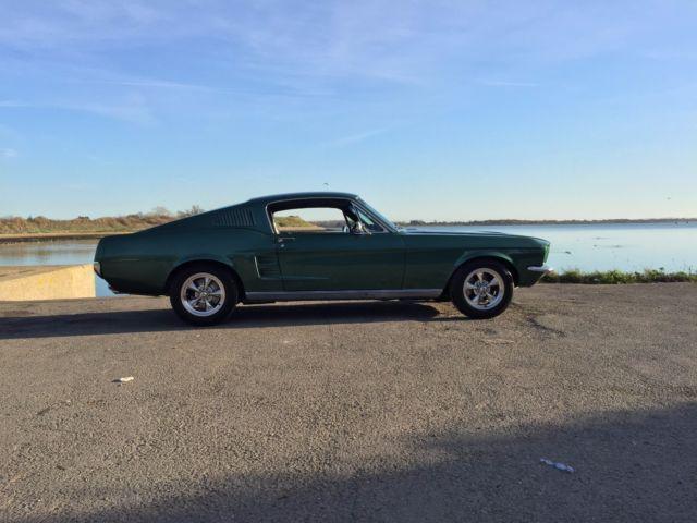 1967 Ford Mustang Fastback 289ci V8 Auto - Fully Restored Bullitt Inspired