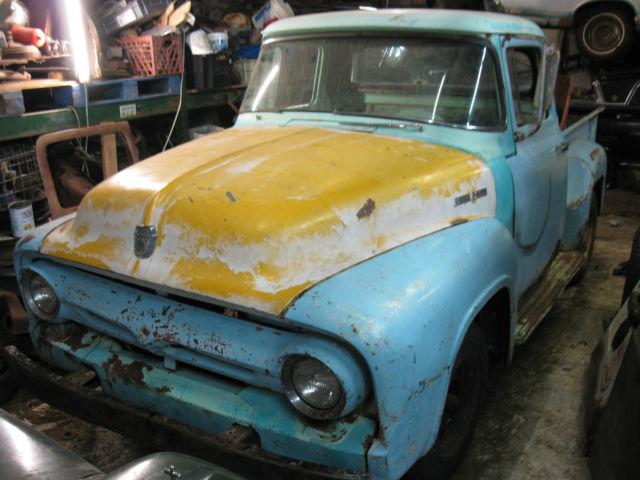 Ebay on 1960 Ford F100 Pickup Truck
