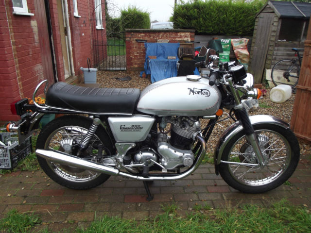 Norton commando mk3 interstate