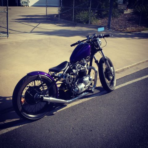 1965 Triumph custom Bobber! LAMS approved