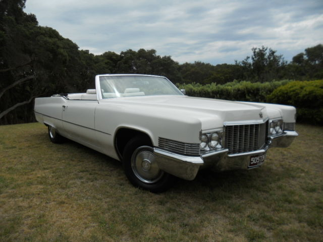 1970 Cadillac DeVille Convertible Excellent condition suit fussy buyer with RWC