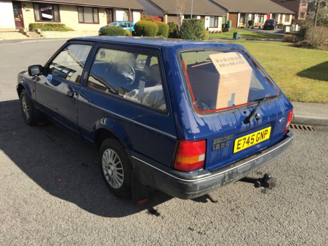 estate Ford escort diesel