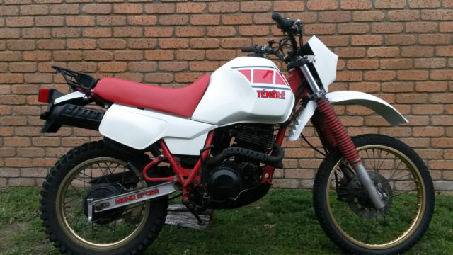 2 Yamaha 1984 XT 600 Tenere's