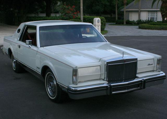1981 Lincoln Mark Series MARK VI - TWO OWNER - 61K MILES