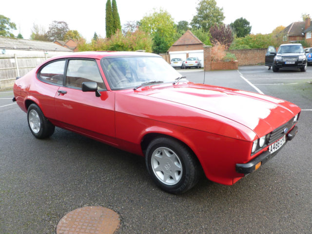 Ford capri 2l s, show condition, restored last two years.