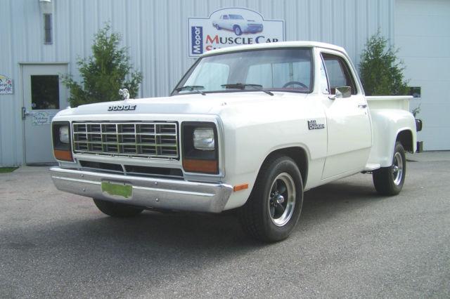 1981 Dodge Other Pickups Step Side