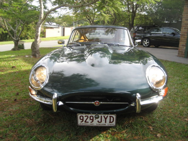 JAGUAR E TYPE  FIXED HEAD COUPE  3.8     23 300 MILES ONLY