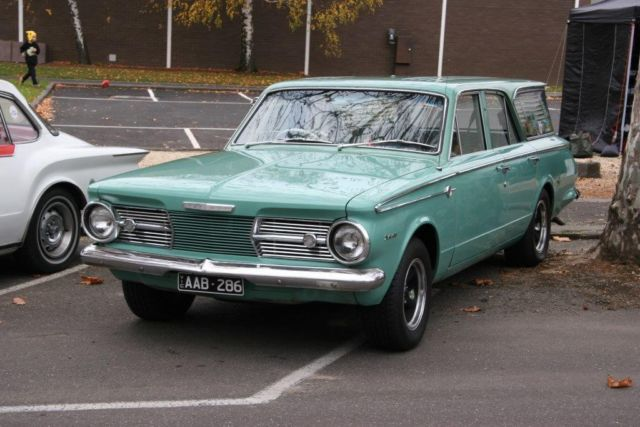 Chrysler Valiant Safari (1965) 4D Wagon Manual (3.7L - Carb) Seats