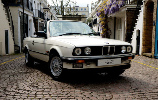 E30 BMW 325i Convertible with Rare Factory Hard Top (1988)