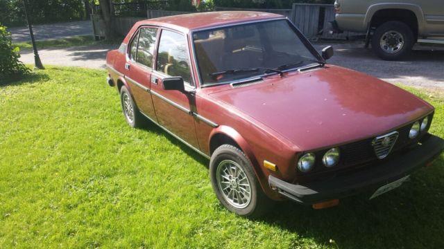 19790000 Alfa Romeo Other Alfetta