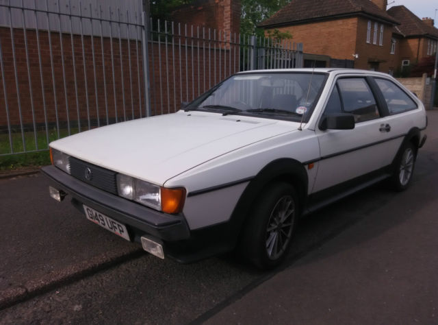 1989 VOLKSWAGEN SCIROCCO GT WHITE MOT DRIVE AWAY [SPARES OR REPAIRS]