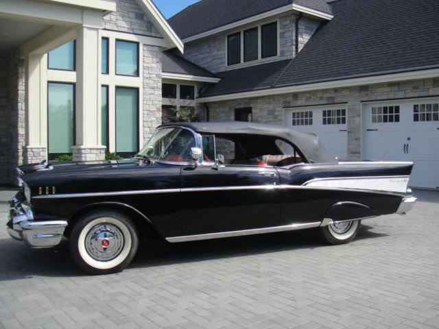 Chevrolet : Bel Air/150/210 Convertible