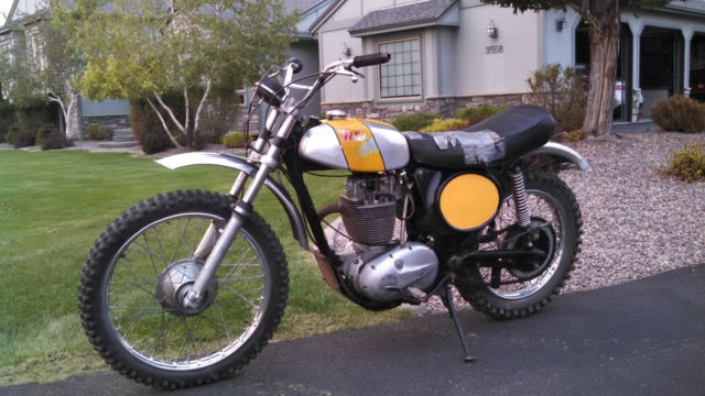 1973 BSA B50
