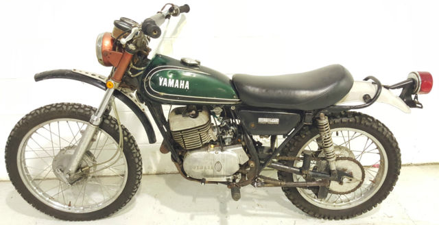 1973 Yamaha DT360 RT1 Unregistered US Import Classic Restoration Matching Number
