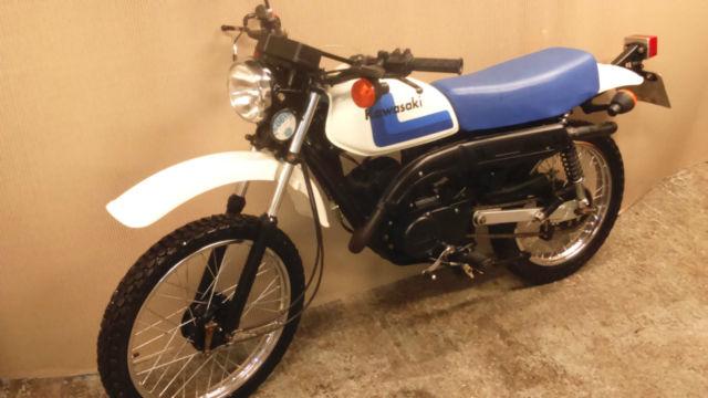 Kawasaki KE100 Clic Twin Shock 2stroke Enduro - Showroom ...