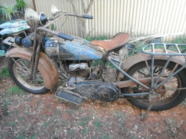 1928 Harley J   1000cc