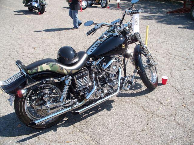 Classic 1980 Harley-Davidson Wideglide-FXWG-Very clean & solid shovelhead-ARMY