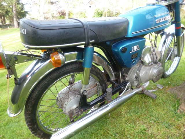 SUZUKI A100 1978 ORIGINAL UNRESTORED. 15,000 MILES. 3 OWNERS.