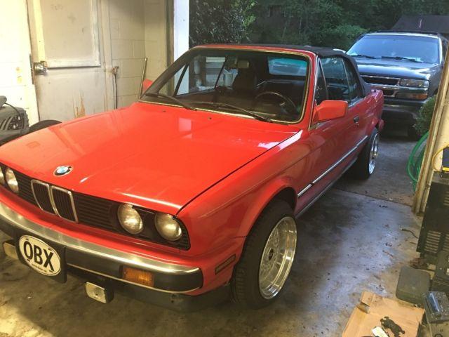 1990 BMW 325i Convertible e30 Cabrio